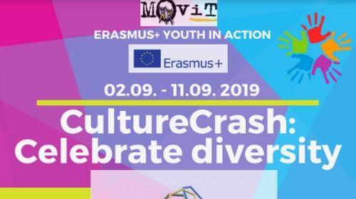 "Erasmus+ razmjena mladih ""CultureCrash: Celebrate diversity"" – Slovenija, 2.-11.9.2019."