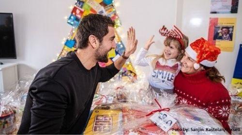 Poklon paketi za djecu u Centru za mlade grada Zagreba