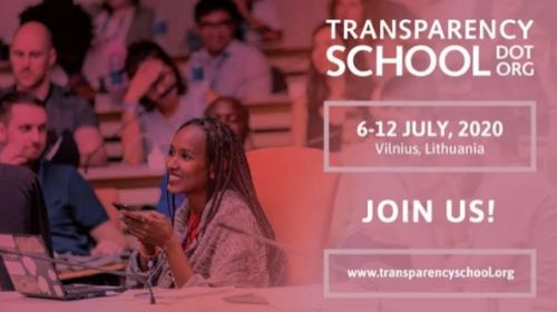 Otvorene prijave za Transparency School 2020